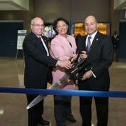 Ribbon Cutting, Opening Reception, and Corporate Patron Recognition